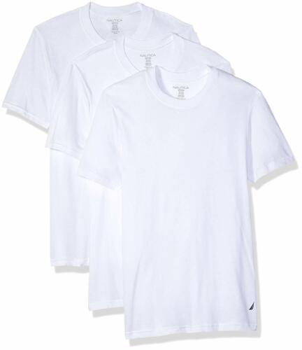 Select SZ//Color. Nautica Mens Cotton Crew Neck T-Shirt-Multi Packs