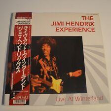 JIMI HENDRIX - LIVE AT WINTERLAND - 1987 JAPAN 2LPs