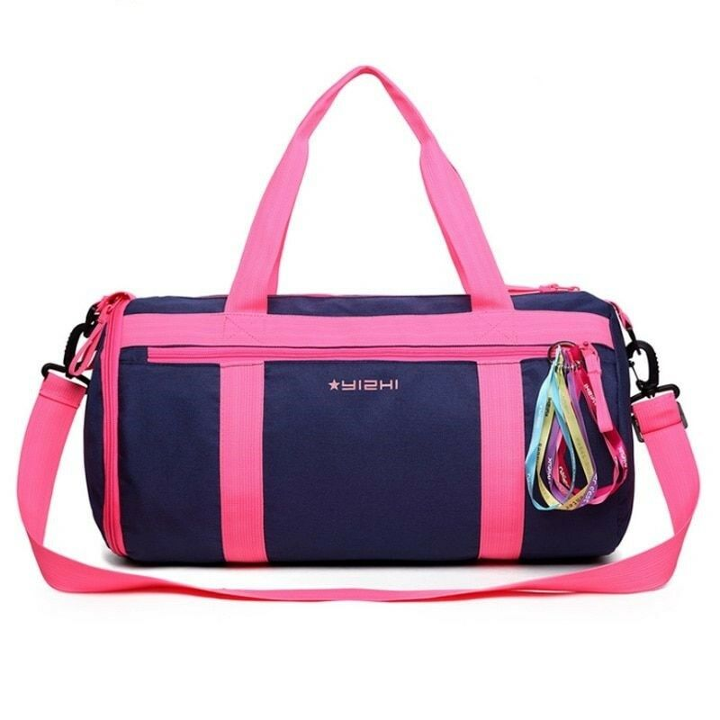 Duffle Bag Women Sports Training Gym Waterproof Fitness Yoga Shoulder Handbag