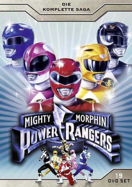 DVD Mighty Morphin Power Rangers TV Series Season 1-3 All 155 Episodes  Region 2