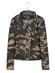 FleißIg Rino & Pelle Aryala Damen Blazer Jacke Jacken, Mäntel & Westen Camouflage Extrem Effizient In Der WäRmeerhaltung Damenmode