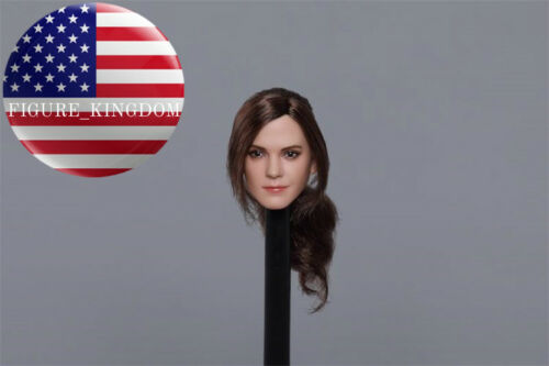 "1//6 Emma Watson Head Sculpt C Harry Potter Hermione For 12/"" PHICEN Hot Toys"