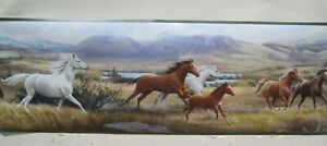 """Horses Running Border 8 """""""