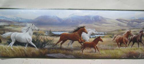 """Horses Running  Border 8  /"""""""