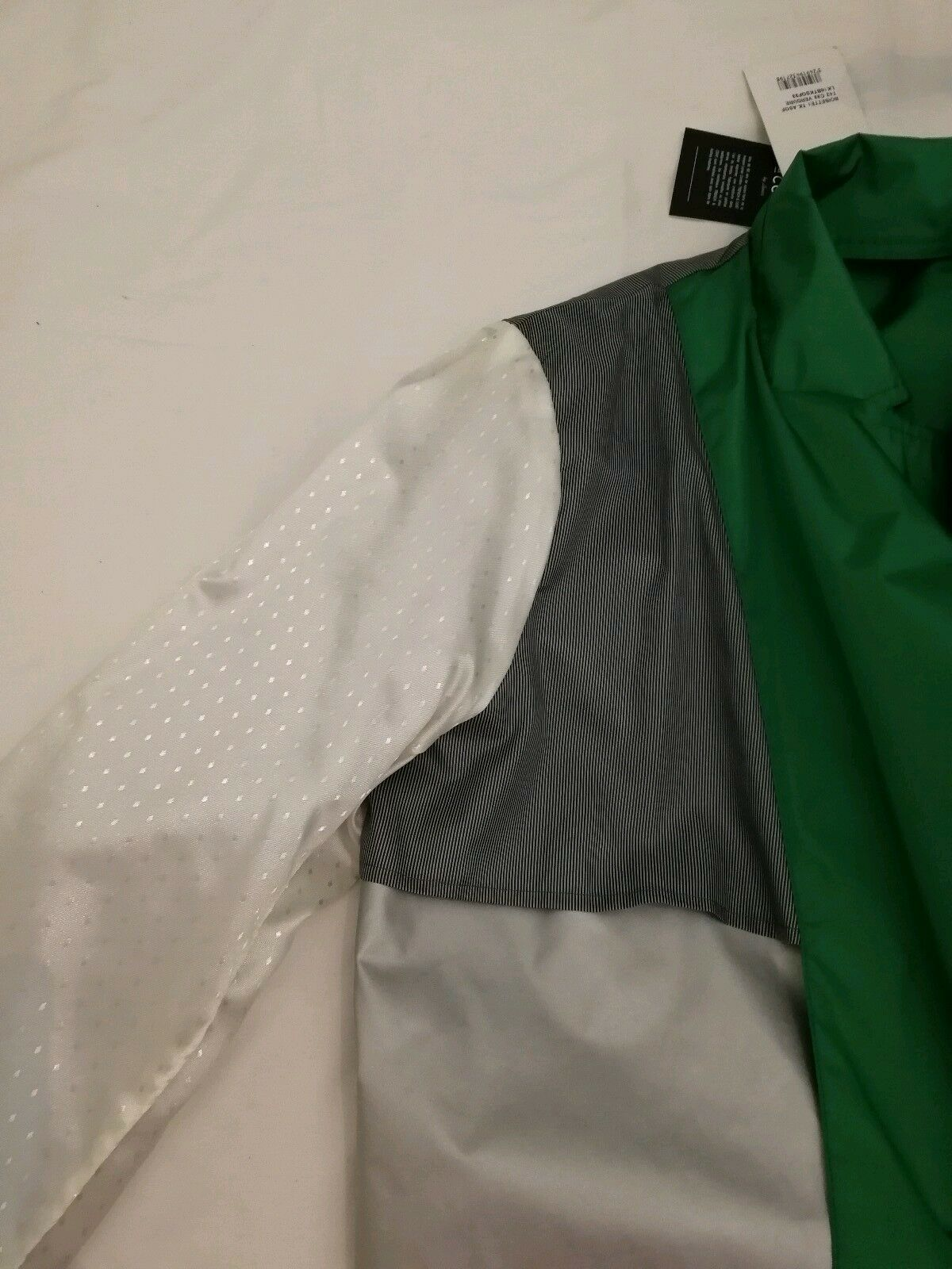 Trench & Coat Coat Coat BOISETTE By LENER Coated Fabric Water Repellant Coat Green Size uk 8a5126