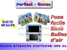 Skin sticker auto-collant vinyl pat patrouille patrol console nintendo 3DS XL LL
