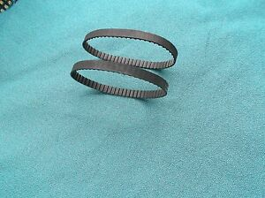 2-NEW-DRIVE-BELTS-MADE-IN-USA-REPLACES-SEARS-CRAFTSMAN-2-989185-01-SANDER-BELT