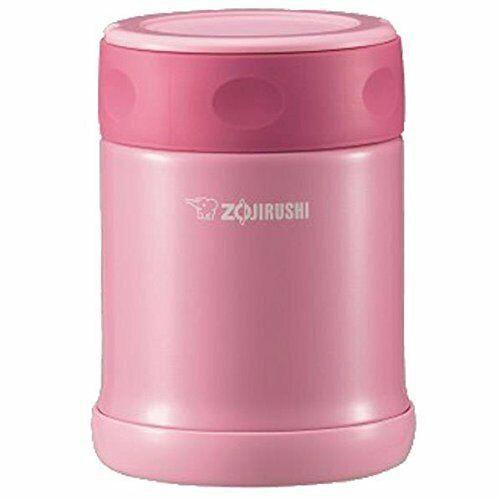 ZOJIRUSHI SW-ED35-PA stainless steel food jar 0.35L pink 11071 JAPAN