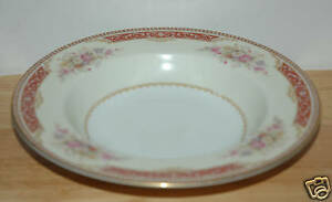 Image Is Loading Noritake China Soup Bowl Pattern N297 Occupied An