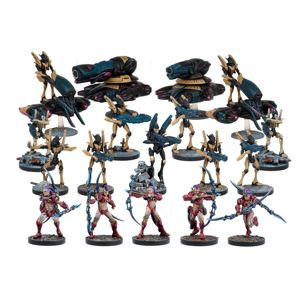 Deadzone Asterian Faction Booster (Mantic figures DZA102) free post