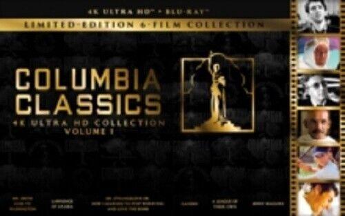 Colombia Classics Volume 1 Vol One New 4K Ultra HD Region B Blu-ray Box Set