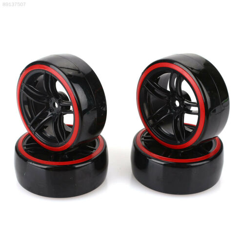 5BE5 Black Racing Car Tire Tire Model Model Drift Outdoor Toy Car Tire Strong