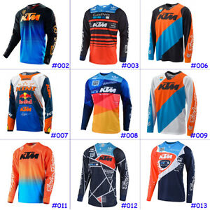 Cycling-Jersey-Long-Sleeve-Road-Bike-MTB-Fast-Dry-Motocross-KTM-Team-Clothing