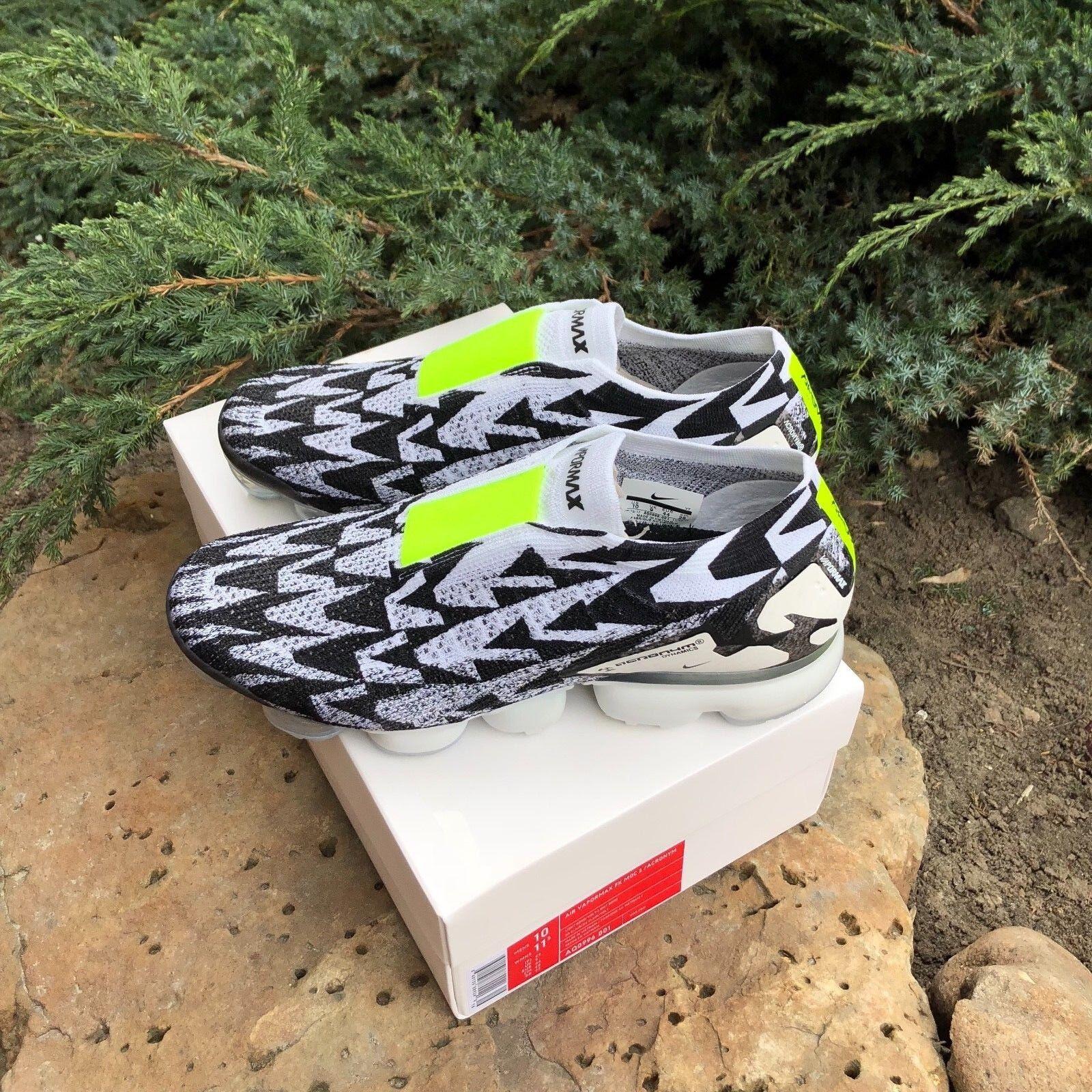 Nike Air vapormax FK Moc hueso 2.0 / acrónimo luz hueso Moc Volt collab aq0996-001 us4-13 liquidación de temporada 12a380