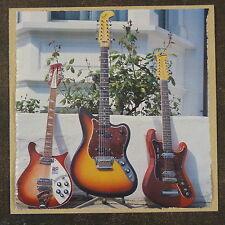 Pop-kard Feat. 12 Cuerdas Fender Eko Rickenbacker 15x15cm tarjeta de saludo AAQ