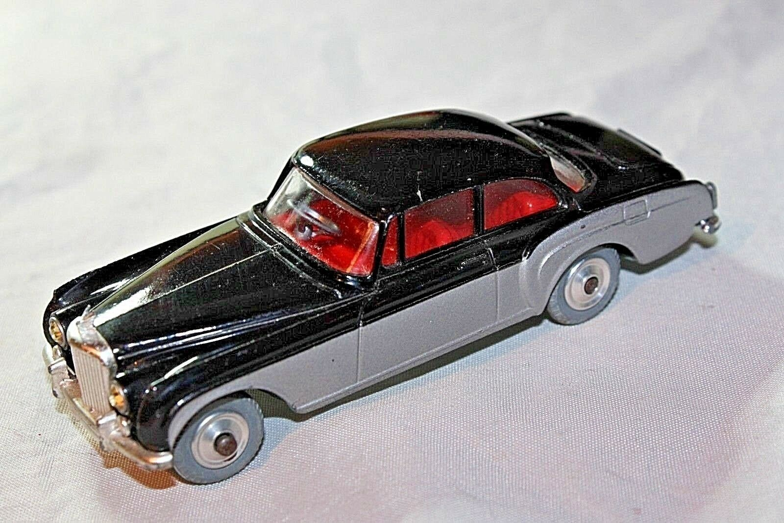 CORGI  224 Bentley Continental, VNM, Superbe Exemple, Noir Argent