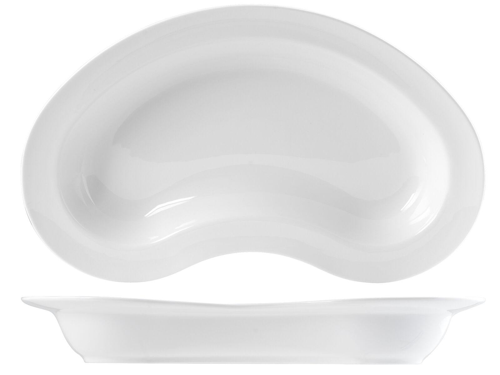 H&H Piatto Porcellana Ovale Cm46 accessorio per la tavola
