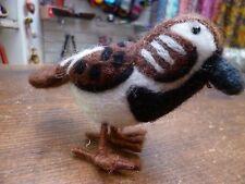 Felt Sparrow Bird Christmas Hanging Decoration Ethical Fair Trade Home Gift