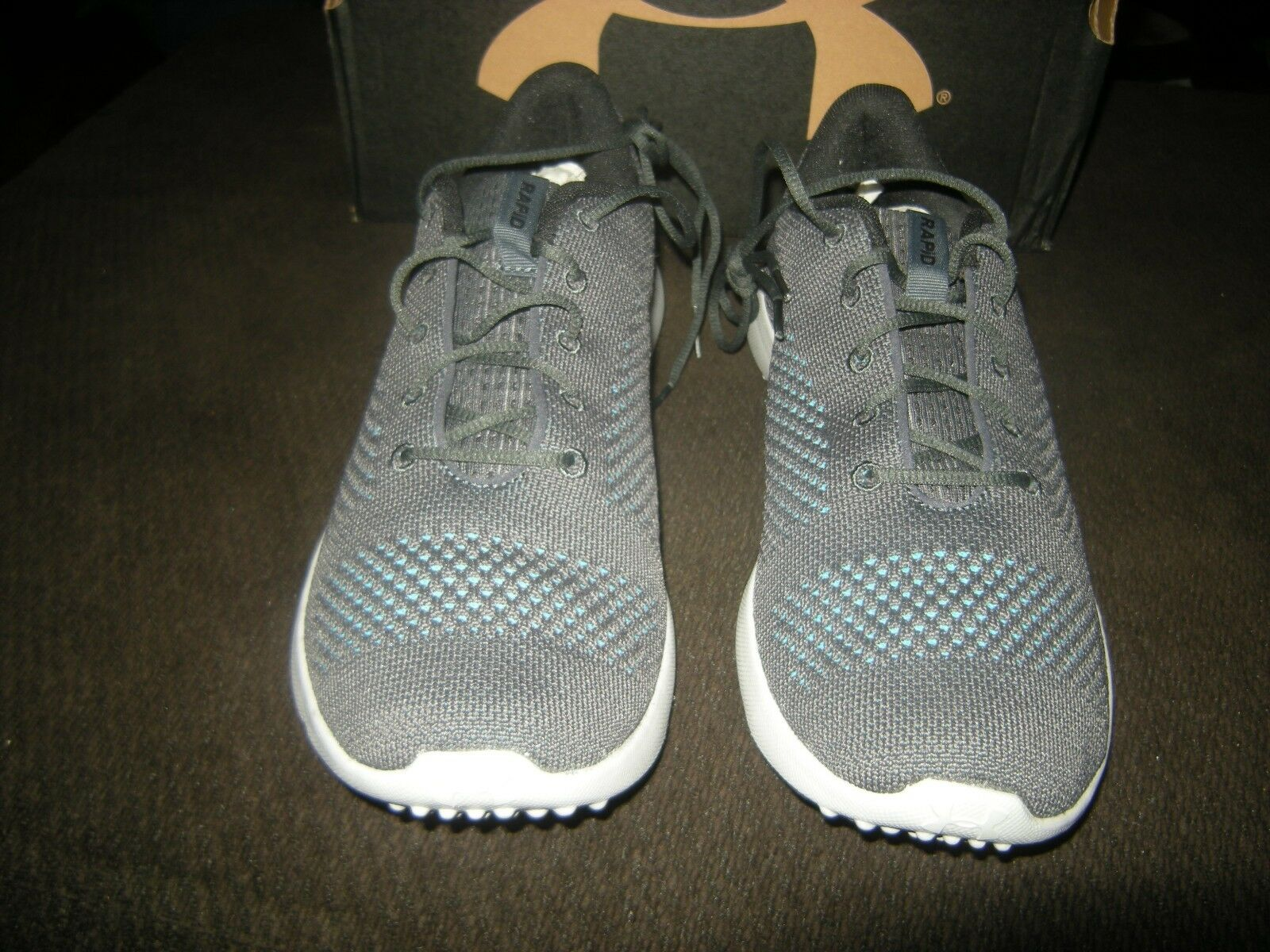 Brand Brand Brand New  Uomo Gray & Blau Under Armour Rapid Schuhes, Größe 8.5 10dbe7
