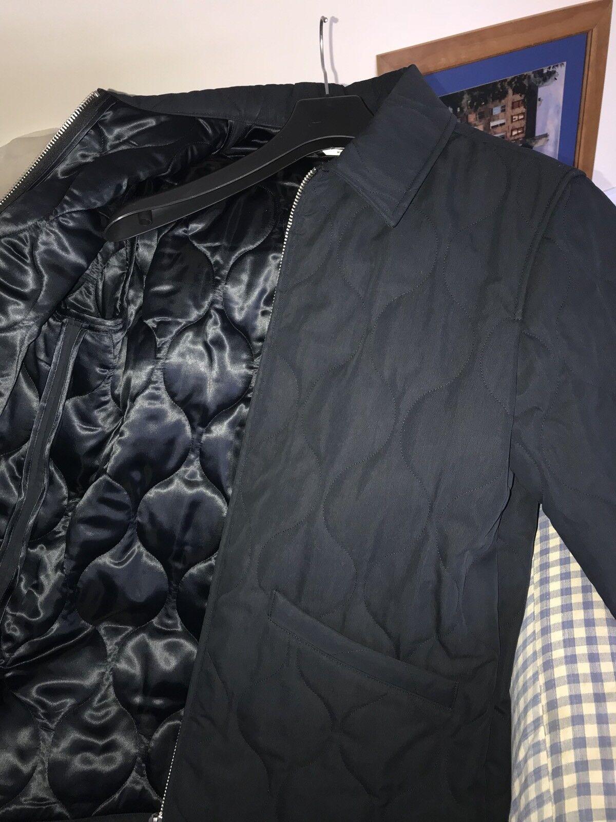 A.P.C. x Louis W Emil trapuntato misto navy cotone blu navy misto scuro Giacca Taglia Large Nuovo di Zecca d4198f
