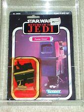 Vintage Star Wars 1983 KENNER AFA 80/80/85 POWER DROID ROTJ 65 Back-B card MOC!