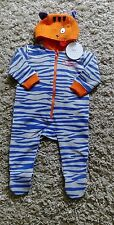 MOTHERCARE BABYS NEW SLEEP SUIT SMILE BY JULIEN MACDONALD AGE 3/6 MONTHS TIGER