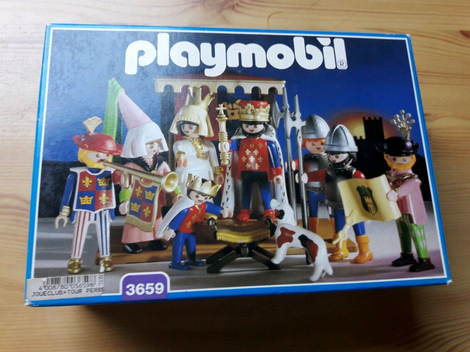 Boite roi 3669 Neuf  ( open) Playmobil R