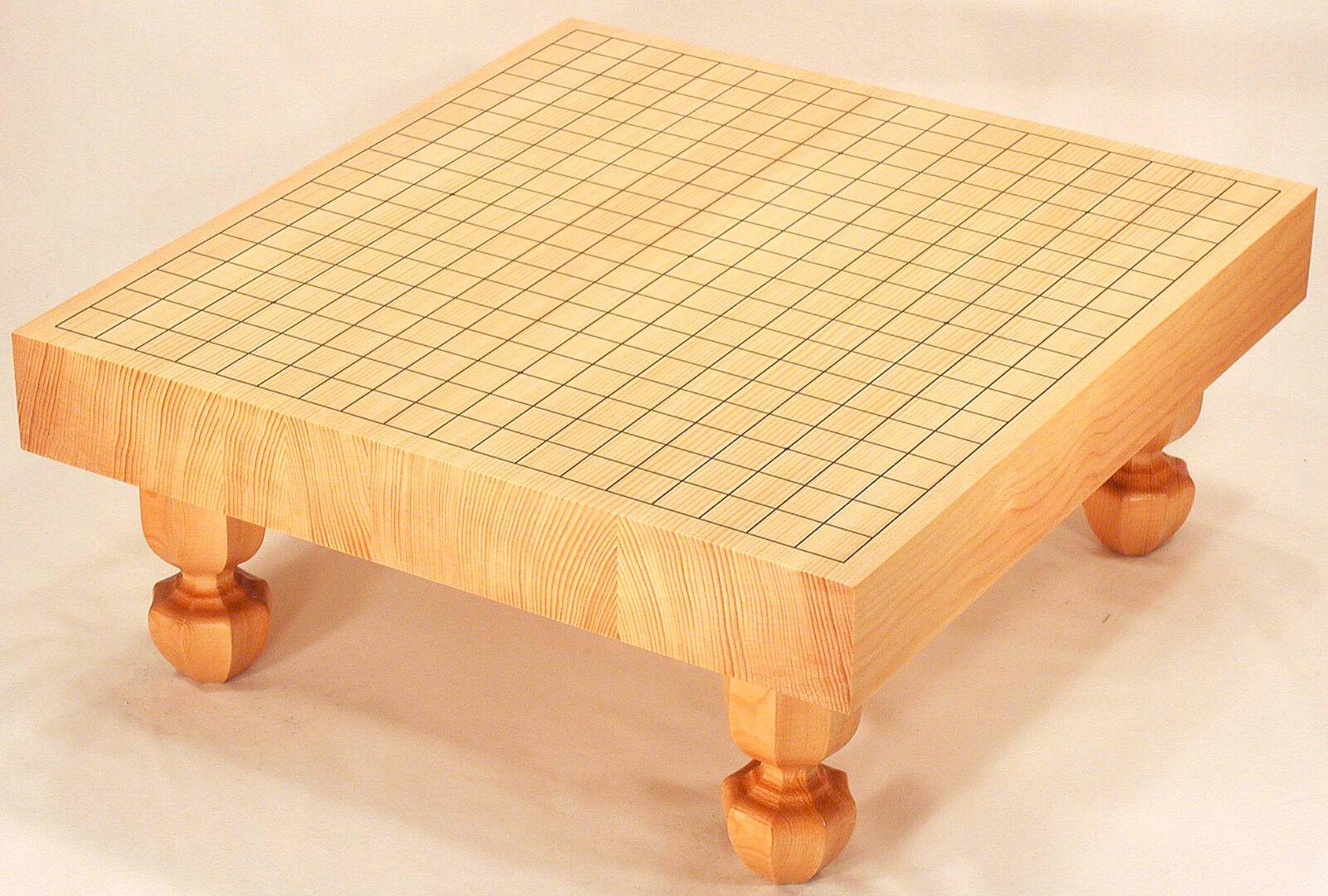 Japanese Japanese Japanese Game of  Go  Goban Kaya Board with Legs Igo High Quality 2-sun 6cm d06859