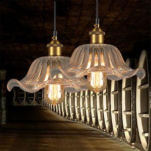 Crystal Clear Gl Pendant Light Vintage Chandelier