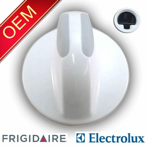 134034900 OEM FACTORY ORIGINAL WHITE WASHER OR DRYER SELECT KNOB FOR GIBSON