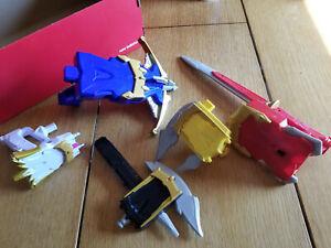 Power Rangers 2012 Megaforce Battle Gear Deluxe Blaster