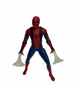 "Spiderman Heimkehr webcity Actionfigur Hasbro 2017 Marvel 6"" leuchtet"