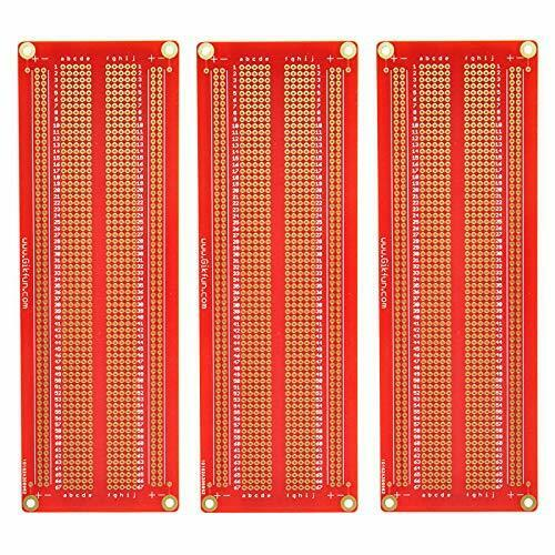 Mini Solder Able Breadboard GOLD Plated Finish Proto Board PCB For Arduino Elect