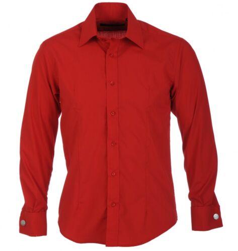 Mens Guide London ShirtLong SleeveLS67159Red
