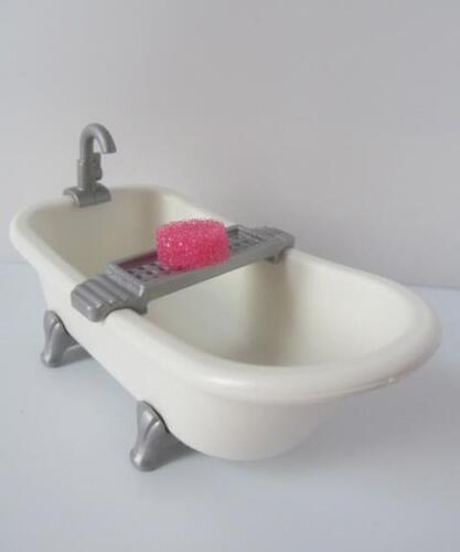 Playmobil Victorian or Modern Dollshouse extra Traditional roll-top bath NEW