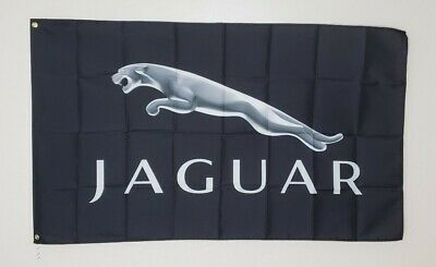 Jaguar Banner 3x5 Ft Flag Garage Wall Decor Car Show  XF XJ E-Pace F Type F-Pace