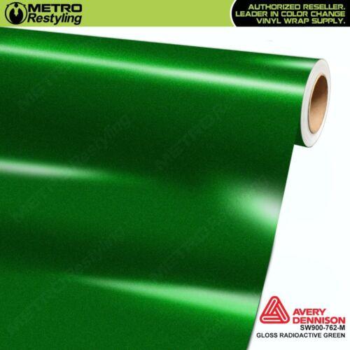 Avery SW900-762-M GLOSS RADIOACTIVE GREEN Vinyl Vehicle Car Wrap Decal Film Roll