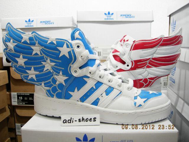 the best attitude bc45f 2fee8 2011 ADIDAS JEREMY SCOTT JS WINGS 2.0 USA FLAG UK 9 US 9,5 camo