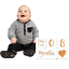 Baby-Monthly-Milestone-Blocks-for-Boys-or-Girls-Photo-Prop-PREMIUM-SOLID-WOOD thumbnail 1