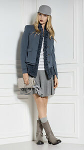 Uk Bnwt Rrp Designer Cain 14 Collarless Marc Jacket Sports Size Lined qgnPxw8vz