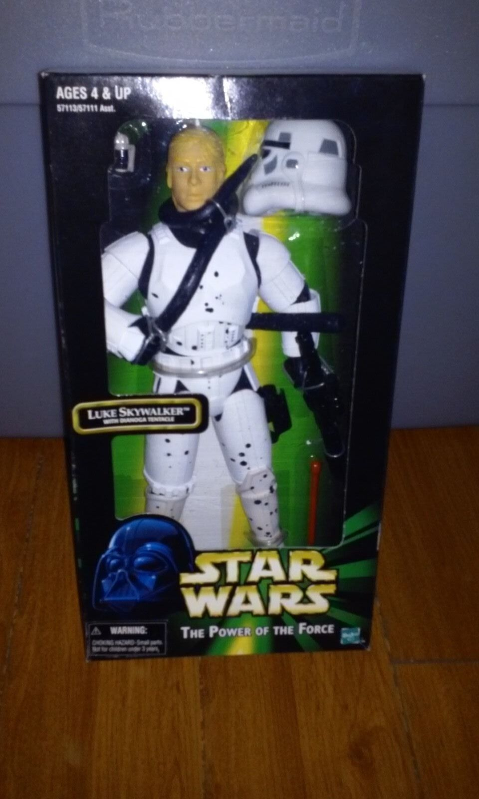 Star Wars  The Power of the Force-Luke Skywalker with Dianoga Tentacle