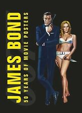 James Bond: 50 Years of Movie Posters Brand New Roger Moore Sean Connery