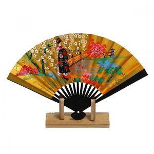 Japanese Towel Tenugui Kyoto Japan Motif of Folding Fan