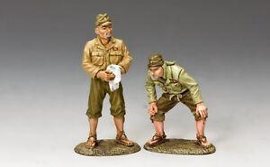 Roi et pays Ww2 Set d'équipage au sol # 1, armée japonaise impériale Jn20 Jn020
