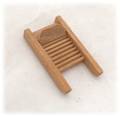 Dollhouse Miniatures Clever Miniature Dollhouse 1:12 Scale Wood Washboard Natural Wood Color Dolls & Bears