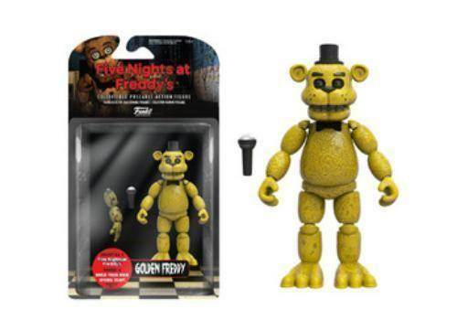 Gold Freddy Toys : Funko five nights at freddys articulated golden freddy
