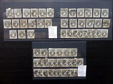 NIGERIA Wholesale 1938/44 - 2d & 3d A Total of 62 Stamps As Described FP9886