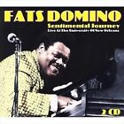 Sentimental Journey: Live at the University of New Orleans by Fats Domino (Antoine Dominique Domino Jr.) (CD, Mar-2007, 2 Discs, SPV Blue Label)