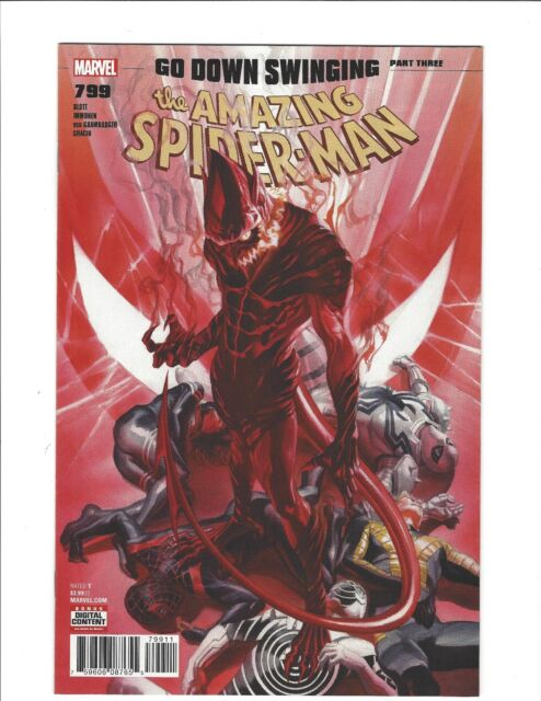 AMAZING SPIDER-MAN #799 Go Down Swinging pt 3 Red Goblin NEAR MINT Marvel Comics