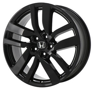 Honda Factory Rims >> Details About 20 Honda Pilot Black Wheel Rim Factory Oem 2016 2017 2018 2019 64090